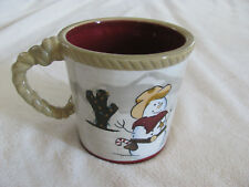 Sonoma Life style Happy Trails Holiday Country/Western - Mug(s) - 5 Avail