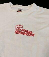 Vintage 90's Heinz 57 Steak Sauce Taste Challenge Made in USA White T-Shirt XL