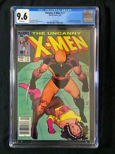 Uncanny X-Men #177 CGC 9.6 (1984) - RARE Newsstand - Wolverine cover