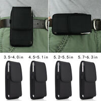 Carrying Cell Phone Holder Nylon Holster Belt Clip Pouch Mobile phone Unisex /