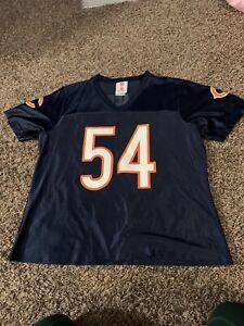 Womens Urlacher Chicago Bears Jersey 54 Size Large