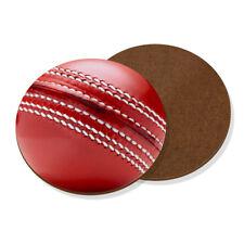 Cricket Ball Coaster Drinks Mat - Funny Sport