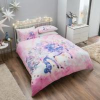 Unicorn Bedding For Children Girls Boys Duvet Cover Set Single Double King size