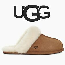 UGG - LADIES SCUFFETTE CHESTNUT SLIPPERS  ( OFFICIAL UGG STOCKIST )