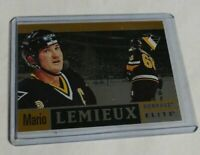 R871 - MARIO LEMIEUX - 1997 ELITE - HART TO HART - #497/1996 - PENGUINS -