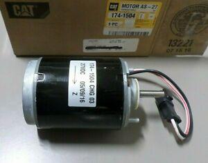 Caterpillar 174-1504 Heater Blower Motor 1741504 GENUINE CAT  27 VDC