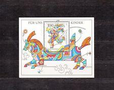 ALLEMAGNE Germany Bloc Feuillet Yvert N° 34 Neuf Luxe XX enfants messager