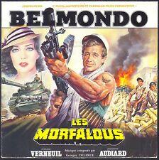 BELMONDO BO FILM LES MORFALOUS GEORGES DELERUE 45T SP MILAN S 243