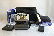 Polaroid Spectra System Instant Film Camera Kit w/ Remote Control Filters & Film
