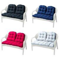 Panca a 2 posti cuscino per sedile a dondolo divano in vimini cuscino per sedia