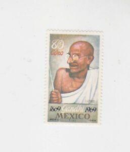 mexico 1969 Sc C352 Gandhi,set  MNH,no gum,     q89