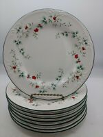 "Set of 8  PFALTZGRAFF WINTERBERRY SALAD DESSERT PLATES 8"" No Chips Free Ship"