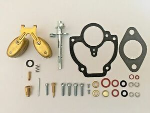 Massey Harris 44, 44 special, 44-6, 444 Tractor Carburetor Kit w/ Float