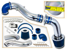 BCP BLUE 98-03 Escort ZX2 2.0L L4 AT/MT Cold Air Intake Induction Kit + Filter