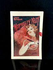 More details for vintage 1920s theatre programme, mercenary mary, london hippodrome