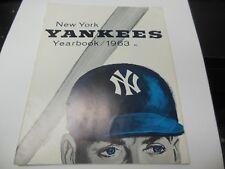 1963 NEW YORK YANKEES MLB YEARBOOK BASEBALL RARE GOOD CONDITION!