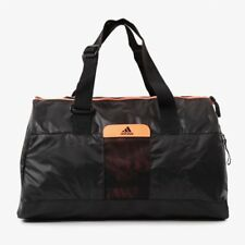 Adidas Performance Women's Perf TB S Sports Bag - Small - Black/Orange - New