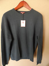 NWT Red House Mens 100% cashmere sweater crew neck top  blue size 4x
