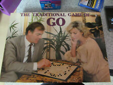 1980'S MICHAEL STANFIELD THE TRADITIONAL GAME OF GO BOARD GAME 100% COMPLETE