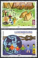 Luxembourg 2007 Europa/Scouts/Scouting/Art/Paintings/Camp Fire 2v set (n35446)