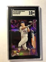 2020 Topps Chrome Update Pete Alonso U-86 Pink Refractor SGC 10