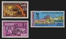 ALGERIE N°506/508** Plan quadriennal 1970, ALGERIA Four-year plan.MNH