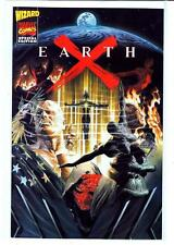 Earth X #1 original sketch book Alex Ross Wizard insert 9.4