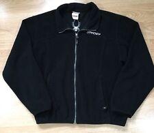 Spyder Full Zip Fleece Women's Size 12 Black And white