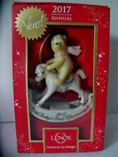 "Lenox Disney 2017 Baby's 1st Winnie The Pooh 4"" Christmas Ornament New in Box"