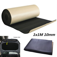 Car Hood Soundproof Noise Insulation Sound Deadener Acoustic Foam Material 1X1M