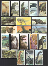 CIGARETTE/TRADE/CARDS. Brooke Bond. THE DINOSAUR TRAIL. (1993). (Full Set o 20).