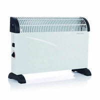 2kw Portable Home Electric Thermostat Convector Heater With Timer 3 heat setting