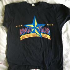 RINGO STARR SUMMER TOUR 1989 VTG CONCERT T-SHIRT~XL~UNWORN~BLACK~BEATLES~COTTON