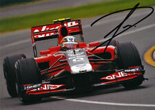Jerome d'Ambrosio Signed 5X7 Inches Virgin 2011 F1 Photo