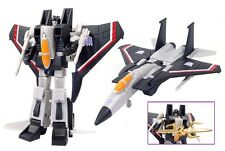 Transformers Robot Masters RM-12 Black Starscream -TAKARA Robotmasters Exclusive