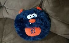 Detroit Tigers 9'' Furry Round Monster Plush RARE - MLB STUFFED ANIMAL EXC