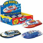 Tin Friction Boat - only one included - Assorted colors By Schylling