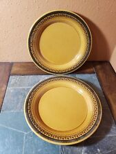 "2 Franciscan ""Creole"" Dinner Plates 10 3/4"""