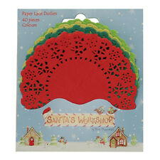 Helz Cuppleditch Santa's Workshop Coloured Doilies