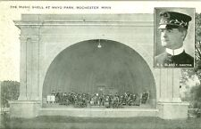 Rochester, MN  R.L.Blakely, Director at the Music Shell in Mayo Park 1918