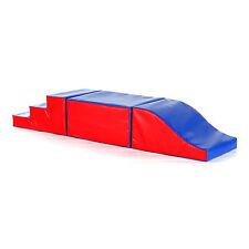 Implay Soft Play PVC Foam Children's Climb & Slide Cuboid Play Set Activity Toy