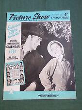 PICTURE SHOW - UK MOVIE MAGAZINE - ROSSANA PODESTA - STEVE COCHRAN - 8 DEC  1956