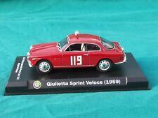 ALFA ROMEO GIULIETTA SPRINT VELOCE HISTORIC RACE CAR