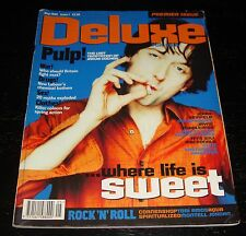 Deluxe Magazine #1 FIRST ISSUE, Pulp, Jerry Seinfeld, Spiritualized, Tori Amos