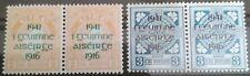 IRELAND 1941 SG# 126-127 25TH ANNIV OF EASTER RISING PAIR SET MNH** OG signed