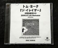 THOM YORKE The Eraser Rare 2006 Japan DVD for Music Store Use Only Radiohead