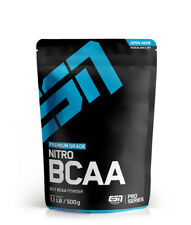 ESN NITRO BCAA Powder - 500g Bonus Raspberry Ice-tea