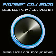 PIONEER CDJ 2000 / NEXUS BLUE PLAY or CUE LED MOD KIT (FOR 2 x CDJS) DJM DDJ