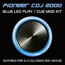 PIONEER CDJ 2000 / NEXUS BLU Play o CUE LED MOD KIT (per 2 x cdjs) djm ddj