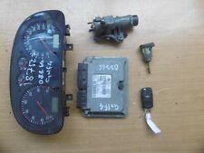 VW Golf 4 IV 1,6L  Motorsteuergerät  Tachometer  Zündschloss    (08866)